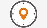 App für mobile GPS Zeiterfassung mit Atoss Time Control - Logo